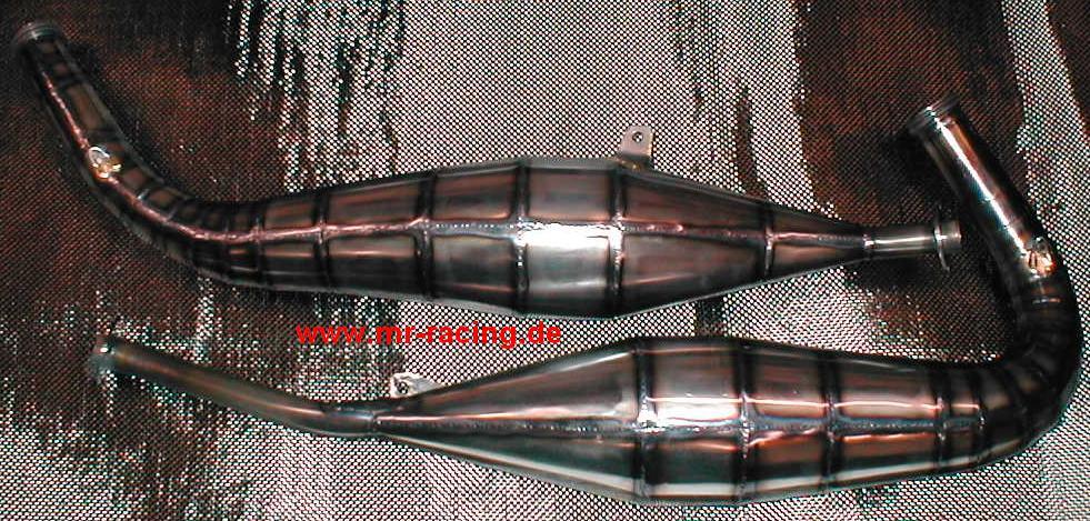 Edelstahl rot 5 m Mikiya Auspuff Thermo-Umschlag f/ür Auto Motorrad W/ärmesammler